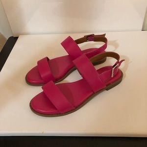 Franco Sarto Hot Pink Sandals.